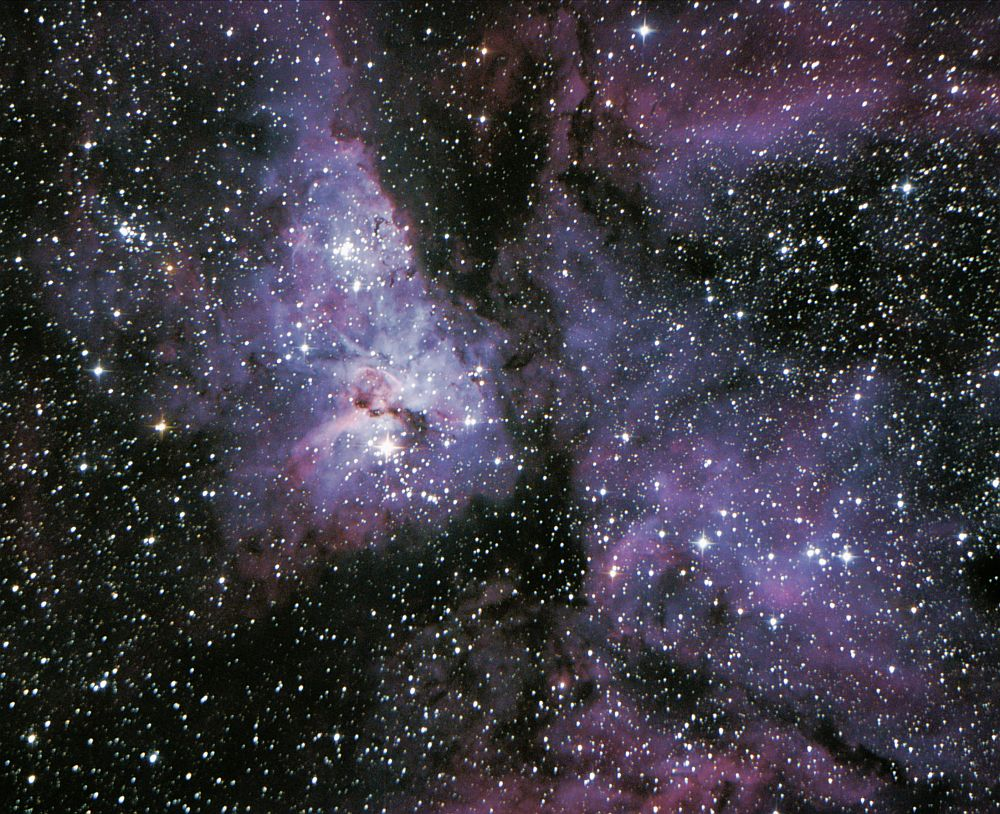 The Eta Carina Nebula.