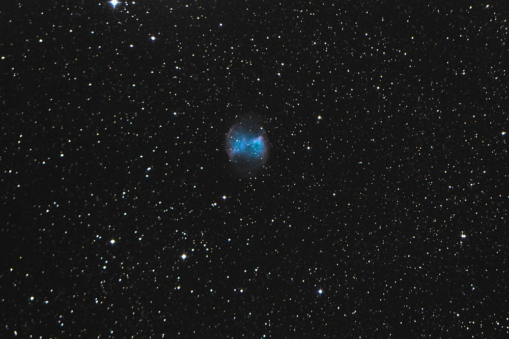 Gas shed from a dying star. (M27)