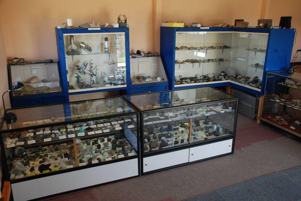 Meteorite and Mineral Display