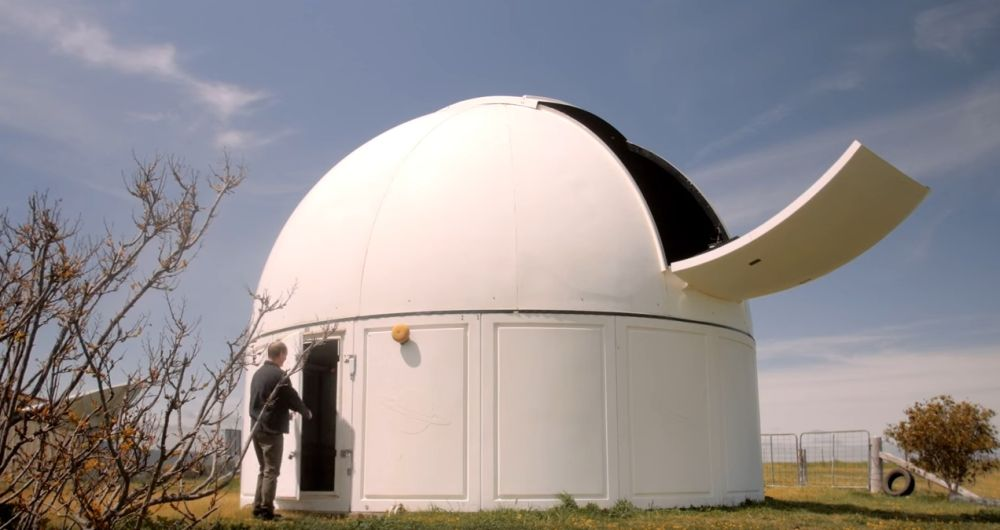 The Bathurst Observatory's iconic dome