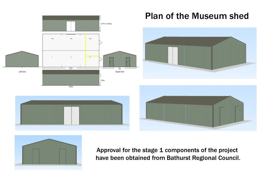 Plan of the Shed